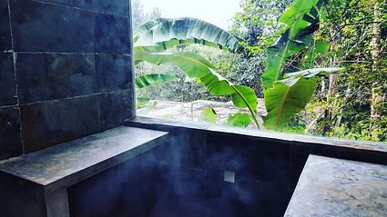 Steamroom at La Semilla Panama