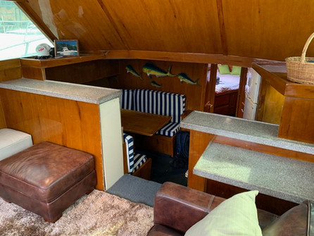 41ft Viking Interior