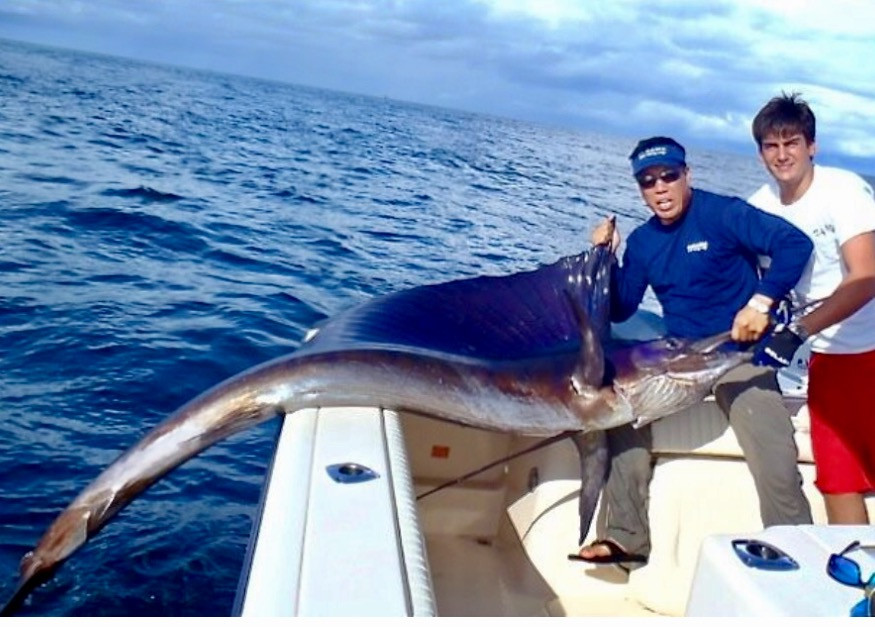 prize marlin caught off of Panama