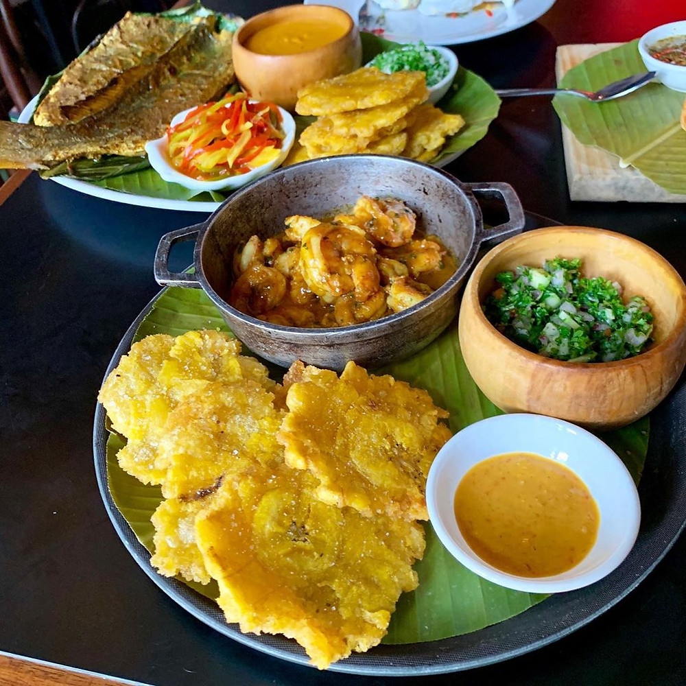 Panamanian food in the streets