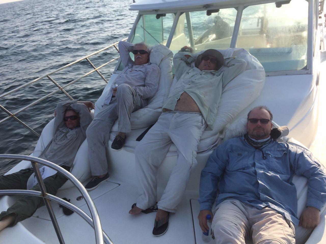 Mothership stay at panama sport fishing lodge group of men