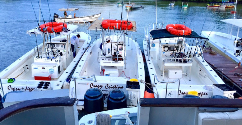 Panama sport fishing lodge fleet