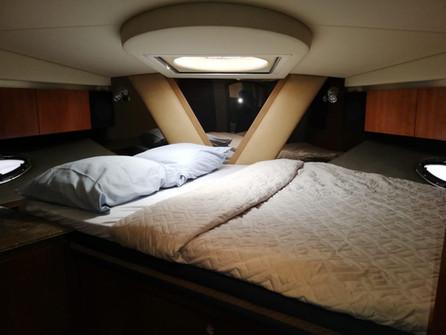 recámara en barco crucero de 46 pies en renta en panamá