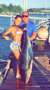 tuna caught at PSFL in Boca Chica