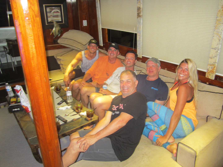 Mothership stay at panama sport fishing lodge