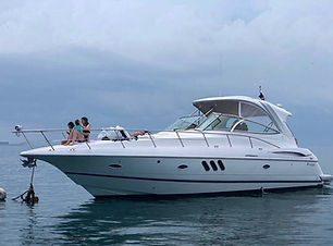 46ft cruiser boat rental in panama