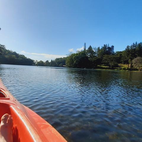 Kayaking in Cerro Azul