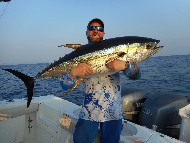 sport fishing tuna in panama