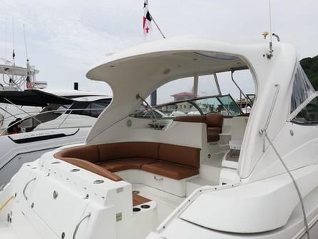 cubierta exterior de crucero de 46 pies en panamá