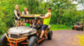 a group offroading 4x4 in Panama on a bachelor party