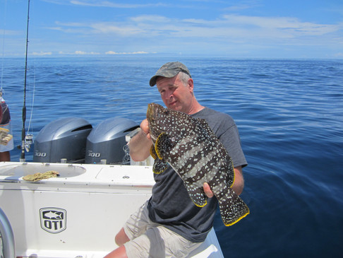Mothership stay at panama sport fishing lodge grouper
