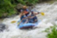 Panama white water rafting
