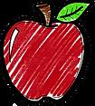 16-162358_apple-clipart-chalkboard-chalk