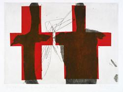 Zwei rote Kreuze
