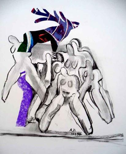 Zeichnung Collage 2