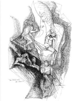 Der Maler und die Faune