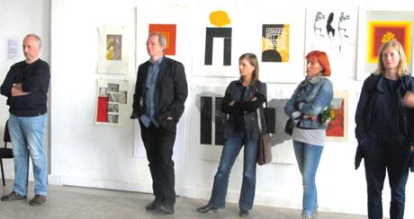 Ausstellung 2015, Leipzig Gießertr.