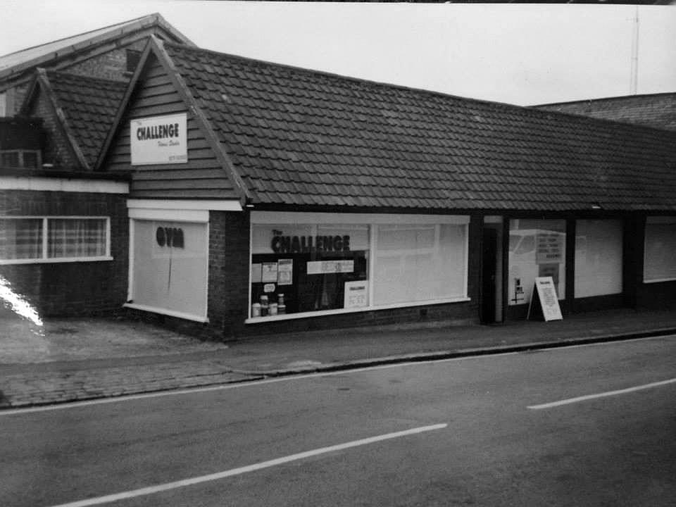 Where it all began... Station Road, Bishops Stortford 1994