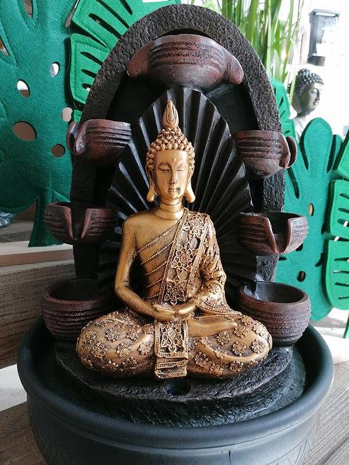 ECO Bouddha fontaine cascade