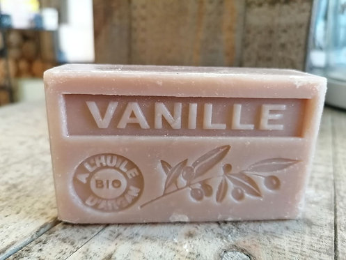 Eco Savon de Marseille  parfum vanille 100g