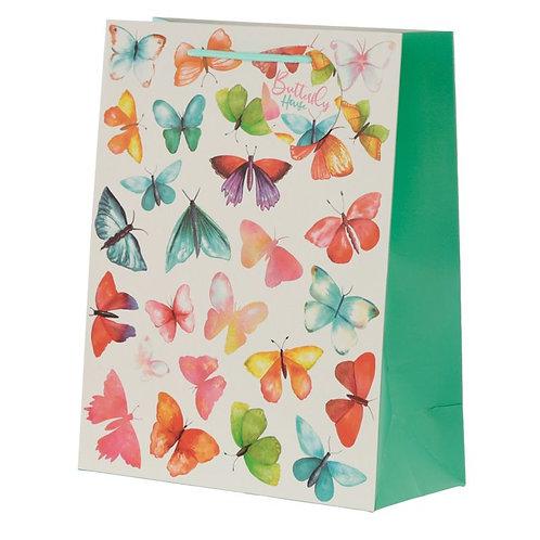 Eco sac cadeau papillons
