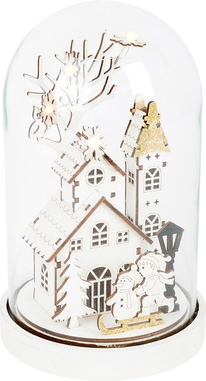 ECO Christmas cloche lumineuse Magie de Noël
