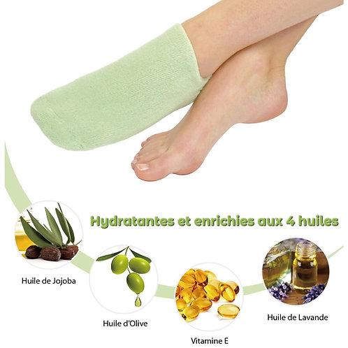 Eco Chaussettes SPA Hydratantes vert