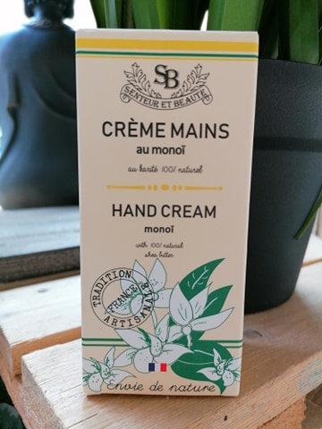 Eco Crème pour les mains monoï & karité 75ml