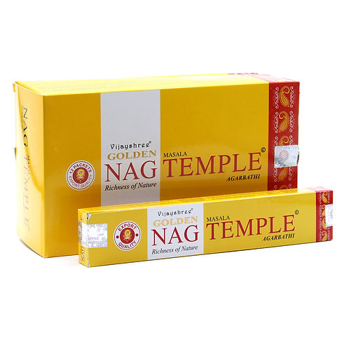 Eco Encens Golden Nag - Champa Temple