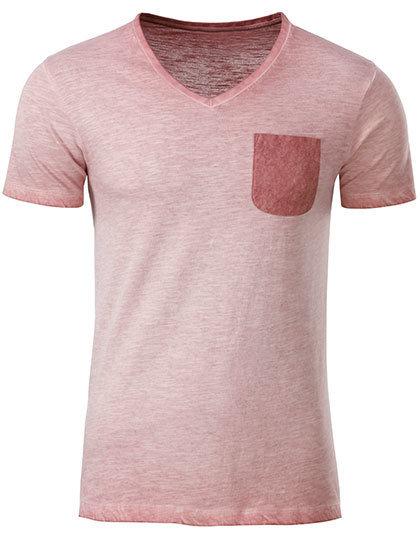 ECO T-shirt col v organic