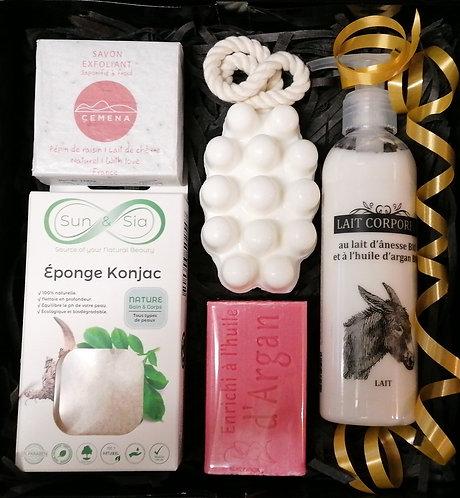 """Eco pack """" exfoliant et massage """""""
