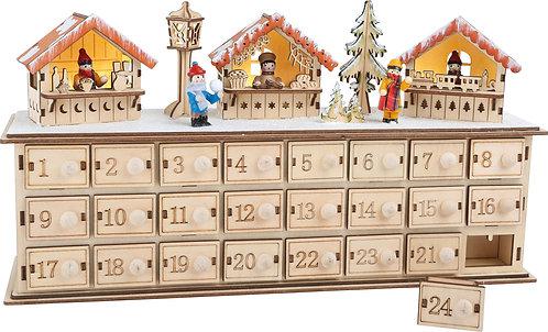 ECO Christmas calendrier de l'Avent Marché de Noël