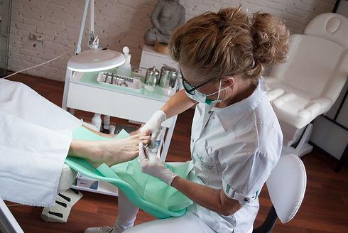 Nanette aan het werken voeten (44 van 55