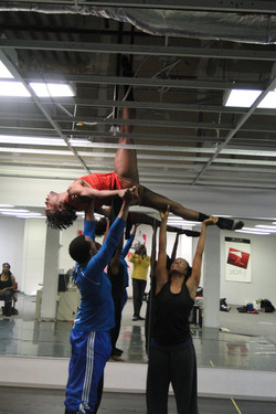 Dance Studio Before