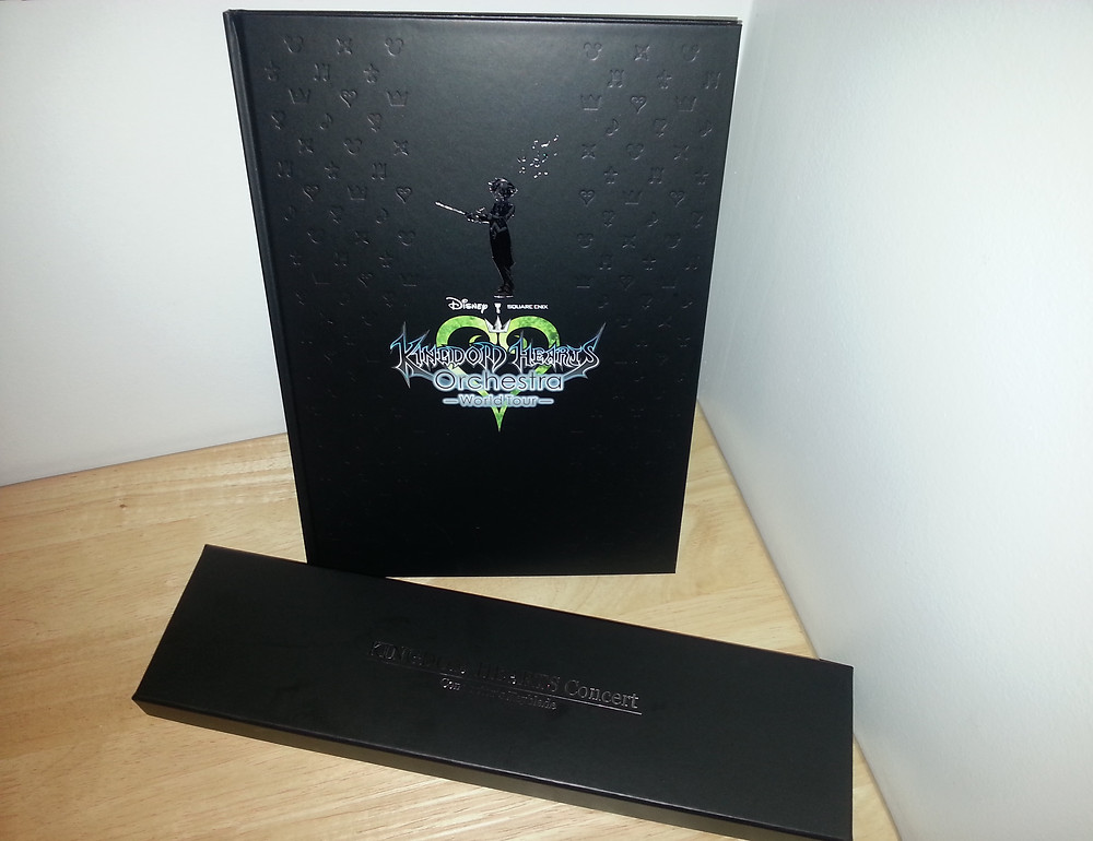 Tour Concert Program and Chief Conductor Keyblade