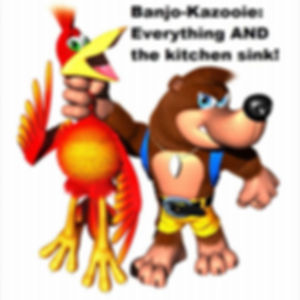 Banjo-Kazooie Everything and the Kitchen