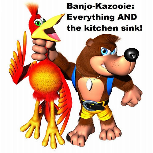 Banjo-Kazooie Everything and the Kitchen