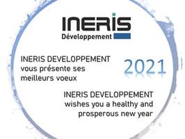 Toute l'équipe d'INERIS DEVELOPPEMENT vous présente ses meilleurs vœux pour 2021 !