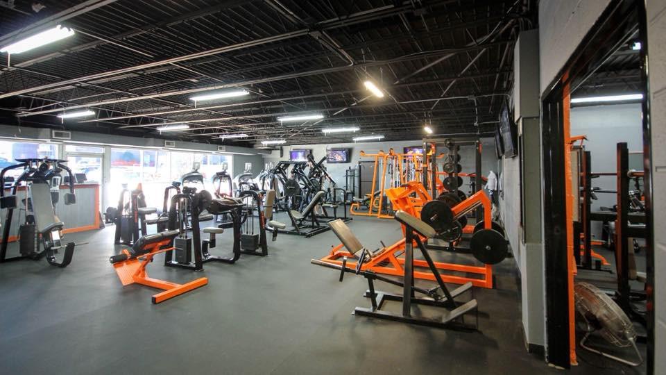 RAF Gym in Hermitage