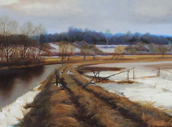 Vesna na reke Ucha_2006_Otel-Vystavochnyj zal-Barcic