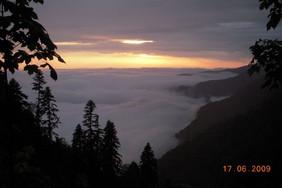 Вид с горы Мамзышха