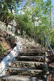 Лестница к Даче с пляжа