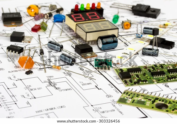 electronic-components-diagram-transistor