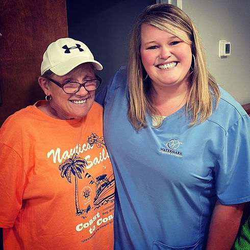 Chastity and Andrea Senior Care Flowery Branch GA.jpg