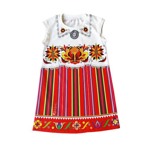 Tuunika-kleit PUNANE