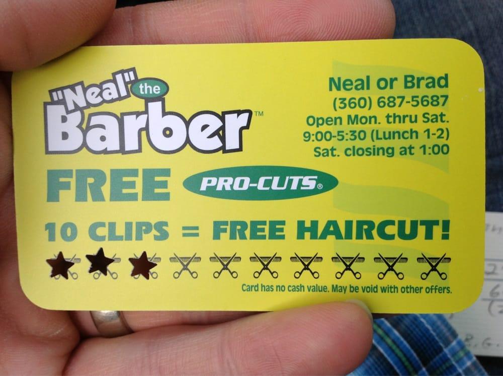yellow-hair-cut-punch-card
