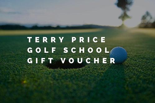 Terry Price Golf School Gift Voucher