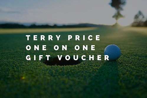One on One with Terry Price Gift Voucher