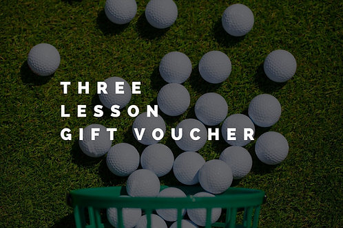 Gift Voucher for 3 x 60 Minute Lesson