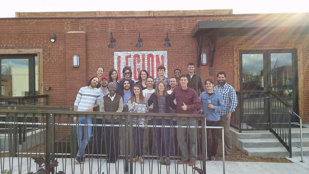 legion brewing team photo